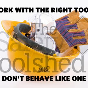Work with the right tools